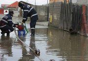 Pompierii militari au intervenit în opt județe afectate de vremea severă