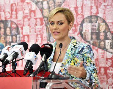 Gabriela Firea depune plângere penală. Acuză că a fost blocat proiectul de testare a...