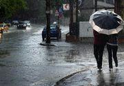 Cod galben de ploi torenţiale, descărcări electrice, vijelii şi grindină, de joi până sâmbătă, în toată ţara