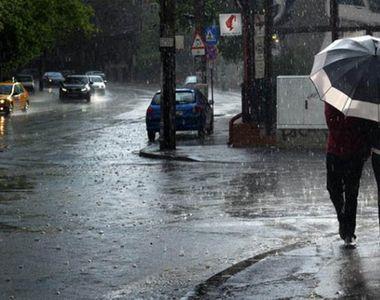 Cod galben de ploi torenţiale, descărcări electrice, vijelii şi grindină, de joi până...