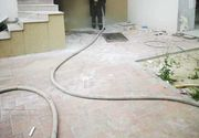 Incendiu la subsolul unui hotel din Mamaia Nord