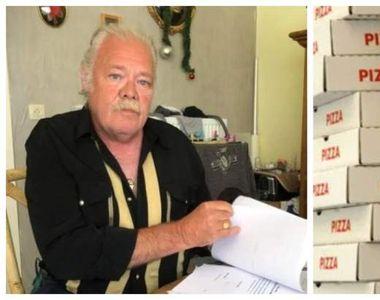 Caz inedit - Un pensionar este hărțuit de nouă ani cu pizza