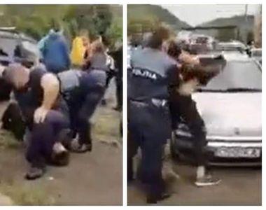 Cazul lui George Floyd se repetă, în România. El este polițistul care a scandalizat o...
