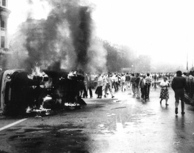 Se împlinesc 30 de ani de la mineriada din 13-15 iunie: Patru morţi, peste 1.300 de...
