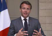 Emmanuel Macron: Franţa accelerează planurile de relaxare a restricţiilor impuse pentru combaterea noului coronavirus