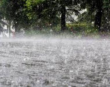 Raport ANM: A plouat cât de trei ori media multianuală a lunii iunie