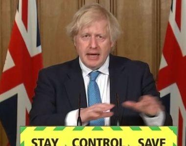 Premierul Boris Johnson a fost implicat într-un accident de circulație