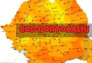 Cod portocaliu de inundații. Avertisment privind producerea de viituri