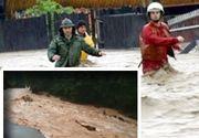 VIDEO| Furtuni violente: Cod roșu de inundații