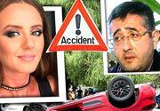 VIDEO| Iubita milionarului Ciro Castellano a provocat un accident ca în filme în cartierul bogaților din Capitală