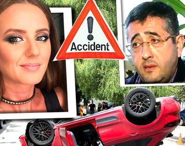 VIDEO| Iubita milionarului Ciro Castellano a provocat un accident ca în filme în...
