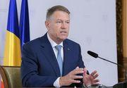 """Klaus Iohannis, despre întoarcerea la starea de urgență: """"Nu dorim să reimpunem măsuri de restricţie"""""""