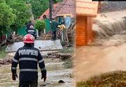 VIDEO | Ploaia a făcut prăpăd