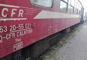 Trafic feroviar întrerupt după ce ploile au distrus un podeţ şi au adus aluviuni pe calea ferată