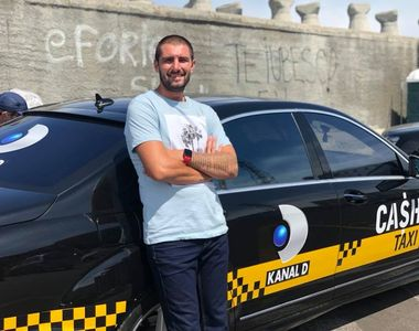 """Catalin Cazacu, prezentatorul """"Cash Taxi"""", a dezlegat """"misterul"""" pasarii Phoenix"""