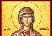 Sărbătoare 25 iunie în calendarul creștin ortodox: Sfânta Mare Muceniță Fevronia