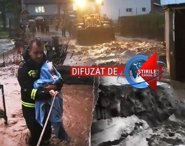 VIDEO| Dezastru în urma inundațiilor. Județele în care situația este gravă. Anunțul...