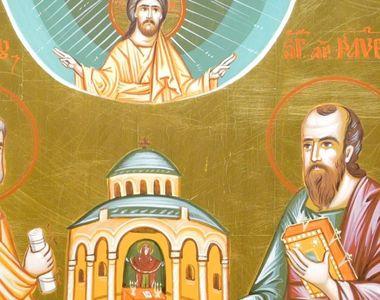 Calendar creștin ortodox: astăzi sunt sărbătoriți Sfinţii Apostoli Petru şi Pavel