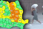 Avertizare meteo. Cod galben de ploi în aproape toată țara