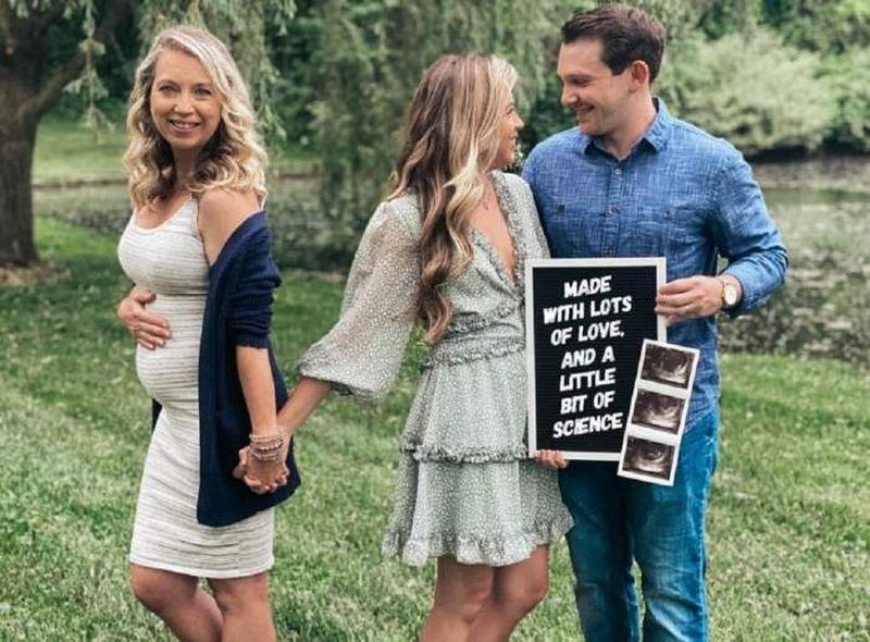 a rămas însărcinată cu nepoata