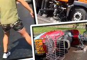 """VIDEO  """"Patinoar"""" în Capitală: 20 de accidente, într-o oră după ce s-a folosit o substanță uleioasă pentru a curăța asfaltul"""