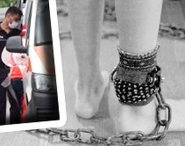 VIDEO| Caz șocant la Vaslui: O mamă și-a legat cu lanțul fiul bolnav mintal ca să nu fugă