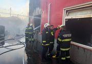 Mesajul RO-ALERT a fost transmis populației! Incendiu la o vulcanizare din Drobeta Turnu-Severin