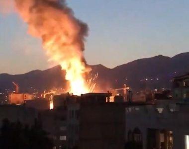 Explozie provocată de o scurgere de gaze la o clinică medicală din Teheran, soldată cu...