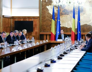 Guvernul se reuneşte  în şedinţă. Ce proiecte sunt pe ordinea de zi