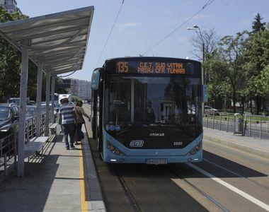 Banda unică pentru tramvaie şi autobuze, inaugurată în Bucureşti