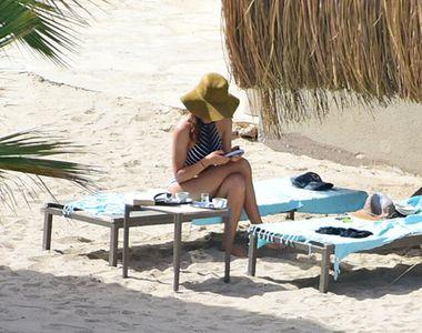 Hilal Altinbilek nu lasă cartea din mână nici în vacanță
