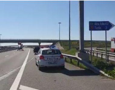 Cluj: Accident grav pe A 3, la ieşirea către Turda - o persoană a murit şi una a fost...