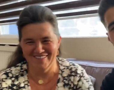 """Iancu de la """"Puterea Dragostei"""" ipostază neașteptată alături de mama lui,  la București"""