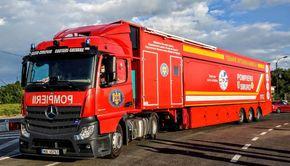VIDEO. Turcia sare din nou în ajutorul României! Cinci unități mobile de terapie intensivă au ajuns în țara noastră