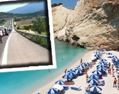 VIDEO| Drumul spre raiul grecesc trece prin iad