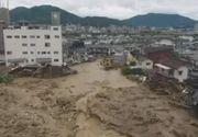 Japonia: Mii de persoane evacuate, 13 oameni daţi dispăruţi, din cauza ploilor torenţiale