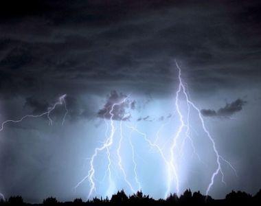 METEO. Cod roșu de furtuni. Ce zone se află sub avertizarea meteorologilor
