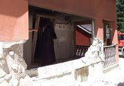 Explozie la o mânăstire din Suceava. Mai multe persoane sunt rănite
