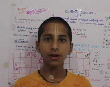 Băiatul care a prevestit pandemia de coronavirus anunţă acum o nouă tragedie pentru...