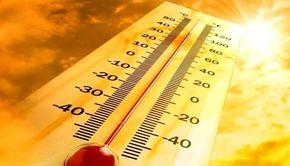 Cod galben de disconfort termic: Temperaturi de 33-37 de grade Celsius - HARTA