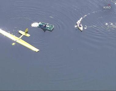 Tragedie aviatică. Mai mulți morți după ce două avioane s-au ciocnit deasupra unui lac