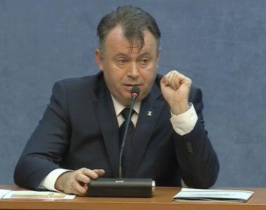 """Ministrul Sănătății, Nelu Tătaru: """"În două zile, au fost externați 550 de pacienți..."""
