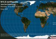 Cutremur de 6,6 grade în Indonezia. A fost emisă alertă de tsunami