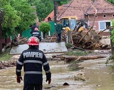 VIDEO| Inundațiile au făcut prăpăd în România. Cod roșu în vigoare marți, urmează alte...