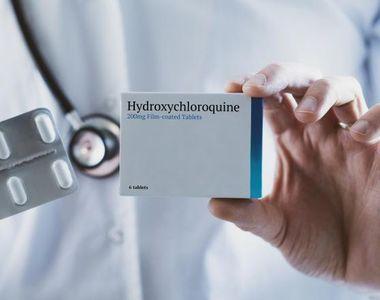 "Hidroxiclorochina administrată ""mult timp"" nu previne forme grave de covid-19"