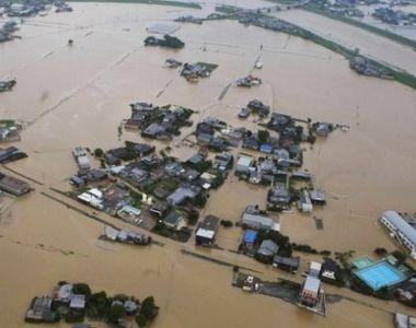 Cel puţin 50 de morţi şi zece dispăruţi în Japonia, în urma unor inundaţii provocate de...
