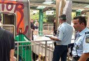 Accident de tren în Atena. Opt persoane au fost rănite