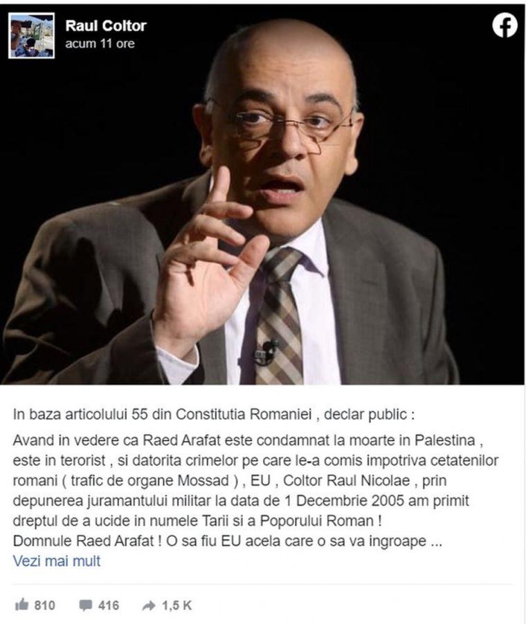 Alertă în România! Raed Arafat a fost amenințat cu moartea