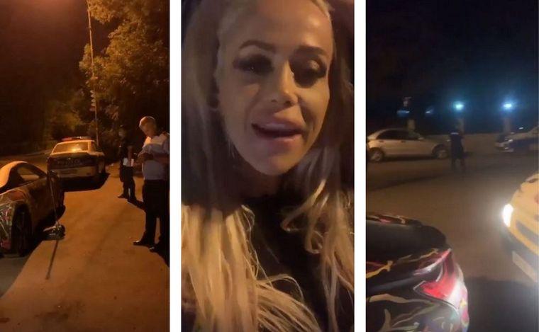 """Anda Adam, probleme cu Poliția la miezul nopții: """"M-a luat, este groasă"""""""