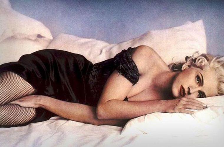 Madonnasi-a asigurat bustul.